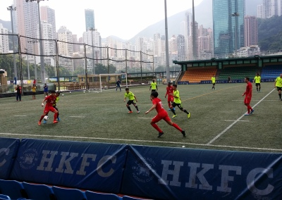 Hong Kong National Team practice with the Federation Technical Director