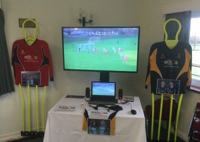 Sponsor Table at Ardingly College